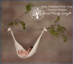 Medium image of baby hammock photo prop  free crochet pattern