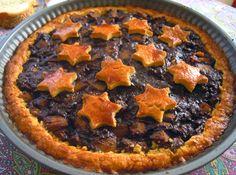 CREAMY CRAB: Crostata di Cacao, Pere e Biscotti