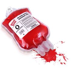 ThinkGeek :: Blood Bath Shower Gel $5.99 (this will be prefect for my zombie themed bathroom!)