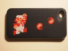 Fire Mario Gaming iPhone Case by Tech Stitch (Amy Locke)