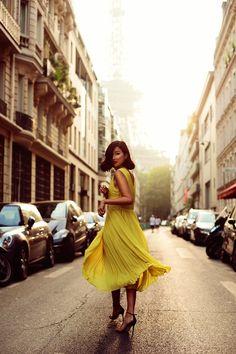 Parisian sundress à la garypeppergirl