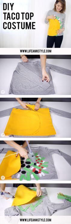 DIY TACO Top COSTUME / Cute  project
