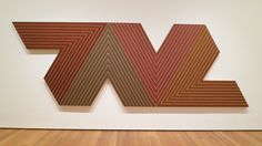 "Frank Stella ""Empress of India"" 1965"