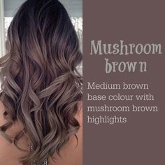 Image result for mushroom hair color