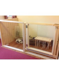 2m x 1m Indoor Rabbit Pen or Cage(3 Sided)