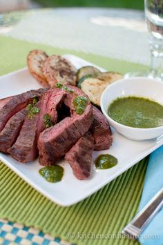 Steak Gaucho-Style with Argentinian Chimichurri Sauce