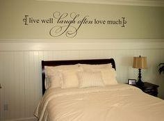 Live Well - decal from www.beautifulwalldecals.com