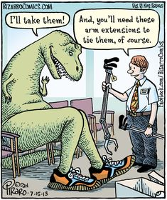 OT for dinosaurs or elastic shoelaces