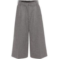 Crop Wide Leg Trousers Alexander McQueen (€975) via Polyvore