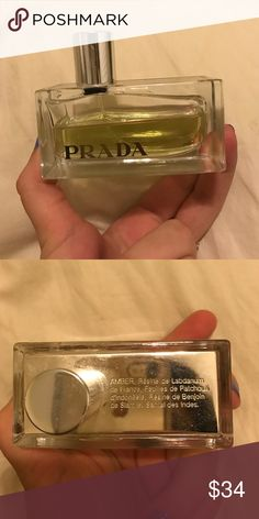 Amber by Prada More than half of the product is left, 1.7 fl oz was in it originally. Received it as a gift. Prada Other