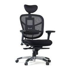 Cadeira Presidente Ergonomica em Tela Mesh BLM-5008, Sistema Relax, Controle de Altura, Encosto, Assento, Cabeça e Braços