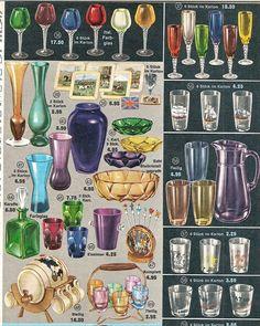 1963 glassware