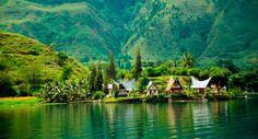 Lake Toba, Sumatra (Supervolcano Caldera)