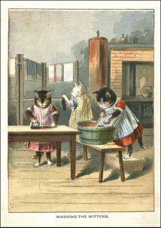 1890'The Three Little Kittens'