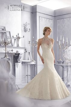 Style 2675 from the Mori Lee Bridal collection for Fall 2014 – check out the rest of the wedding dresses here!