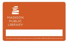 Houston Public Library Card  Library Cards From Around The World