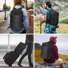 THIS TACTICAL BACKPACK IS DESIGNED FOR ULTIMATE TASKS    #tactical #backpack #travel #survival