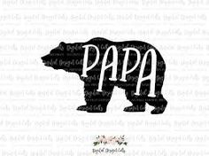 Image result for papa bear silhouette