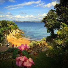 Playa de Los Molinucos a través de la cámara de Ángela Benito. #Santander #Cantabria