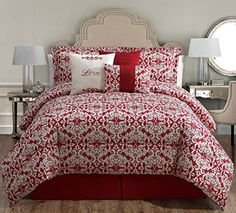 7 Piece Cal King Love Print Comforter Set KingLinen http://www.amazon.com/dp/B00M4PZPAO/ref=cm_sw_r_pi_dp_OJdyub0Y9CTHE