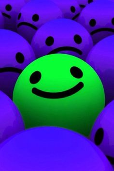 SMILEY - change your world one smile at a time! Just Smile, Happy Smile, Smile Face, Happy Faces, Keep Smiling, Green And Purple, Neon Green, Blue, Funny Faces