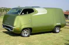 1971 Plymouth Roadrunner. Designed by John Herlitz - Truck Van