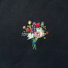Happy Cactus Embroidery - Bouquet