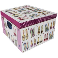 Daisy Patch Shoes Collapsible Storage Box | Stationery - New In! at The Works