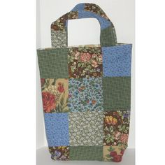 Woodland Walk  Patchwork Knitter's Tote by Patchworkcrafters, $25.00