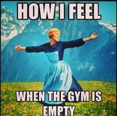 The holy grail of #gym attendance.