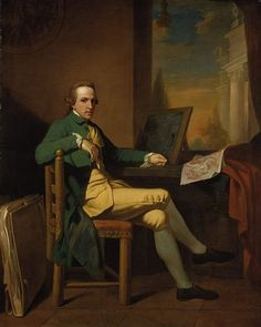 David Allan  Self-Portrait (1770)