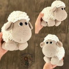 Likes, 60 Comments – Duygu Baykal ( - Amigurumi Ideas Cuddly sheep amigurumi crochet pattern by Kristi Tullus My mom loved sheep and she would love this one! Crochet Amigurumi - 225 Free Crochet Amigurumi Patterns - Page 4 of 4 - DIY & Crafts - Salvabra Crochet Patterns Amigurumi, Baby Knitting Patterns, Amigurumi Doll, Crochet Dolls, Knitting Ideas, Knitting Toys, Afghan Patterns, Baby Patterns, Crochet Sheep Free Pattern