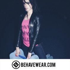 Behavewear.com (link in Bio) #BehaveWear #Behave #clothes #tees #pink #fashion #fashionaddict #photography #editorial #playground #jacket #leatherjacket #perfecthair #freedom #libertarian #libertad #liberty #health #nongmo #organic #2a #patriot #freedomthinkers #freedomofspeech #art #photoshoot #designer #design #paymypills #paymybills