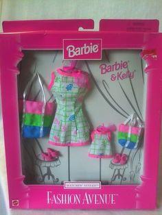 1997 Barbie & Kelly - (Matchin' Styles Fashion Avenue) #