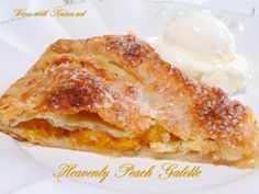 Heavenly Peach Galette