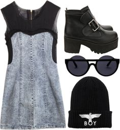 """but I'm a creep I'm a weirdo..."" by rosiee22 ❤ liked on Polyvore"