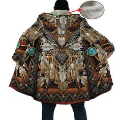 Welcome Native Store offers a vast selection of Native American style clothing, shoes and decor. Whether it is for you or as a gift to a friend, here you'll find many beautiful and trendy gifts Native American Clothing, Native American Fashion, Red Bandana Shoes, Hooded Cloak, Hooded Blanket, Moda Casual, Native Style, Hoodie Dress, Retro Fashion