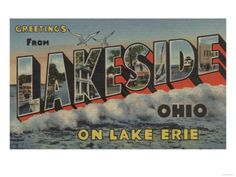 Lakeside: Where the West Ohio Conference of the United Methodist Church meets annually.  Another spiritual place for me.  A beautiful community of summer cottages by the lake, founded by Methodists in the 1800's.  Peace.  Quiet.  A place for me to renew and rest.