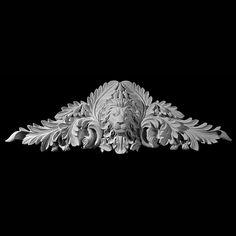 Series Lions Face with Acanthus Leaf and Acorns Resin Cartouche Bronze Sculpture, Sculpture Art, Sculptures, Filigree Tattoo, Tattoo Filler, Pillar Design, Lion Illustration, Lion Pictures, Decorative Mouldings