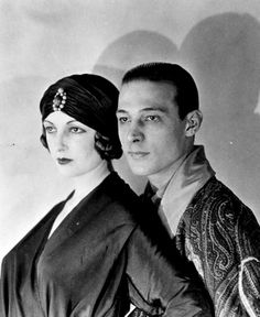 Natacha Rambova and Rudolph Valentino