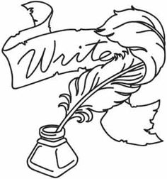 Quill and Ink   Urban Threads: Unique and Awesome Embroidery Designs