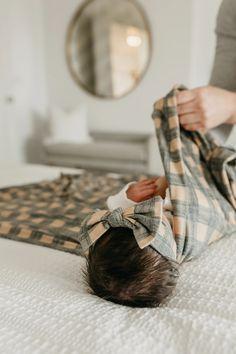 Knit Swaddle Blanket - Billy