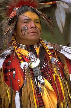 I like the paw print.  http://culturalmind.files.wordpress.com/2008/02/native-american.jpg