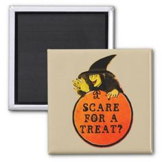 #Funny Halloween Magnet - #halloween #party #stuff #allhalloween All Hallows' Eve All Saints' Eve #Kids & #Adaults