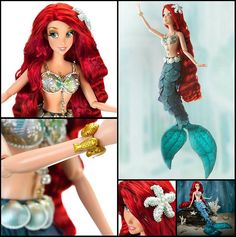 The Little Mermaid Ariel Limited Edition Doll Disney Store. @Ciara Boory