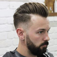 Loose Pompadour Hairstyle