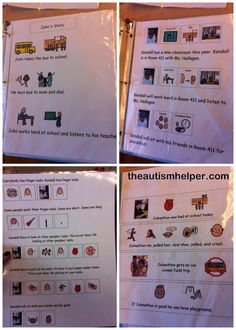 Social Stories for Behavior Management for Children with Autism by theautismhelper.com