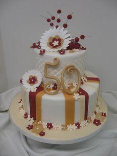 Anniversary Cake Ruby Wedding Cakes Birthday For Women Elegant