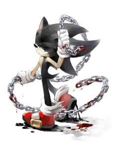 AT:Dark Sonic by BloomTH.deviantart.com on @deviantART