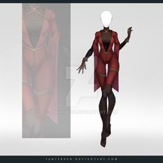 (CLOSED) Adoptable Outfit Auction 240 by JawitReen.deviantart.com on @DeviantArt